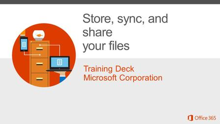 Store, sync, and share your files