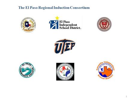 1 The El Paso Regional Induction Consortium. 2 Welcome to the Cooperating Teacher Summer Academy Sponsored by UTEP's Teachers for a New Era and the El.