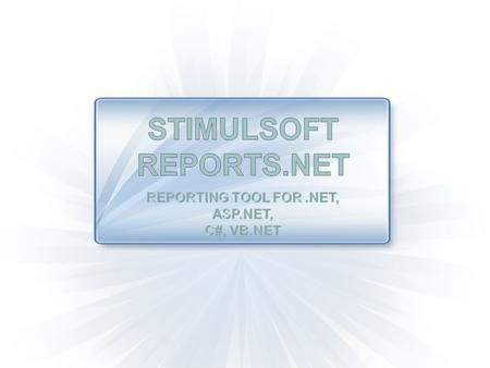 Interactive report designer ADO.Net MS SQL Server OleDB ODBC Oracle SQL MySQL Firebird SQL Postgre SQL XML Business Objects What types of data does Stimulsoft.