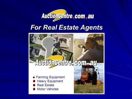 For Real Estate Agents Farming Equipment Heavy Equipment Real Estate Motor Vehicles.
