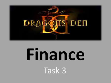Finance Task 3. Step 1: Identify Your Revenue Model.