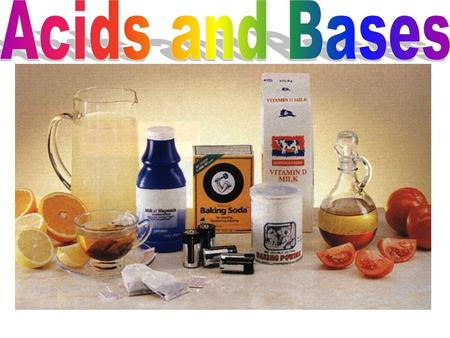 When we think of acids and bases we tend to think of chemistry lab acids and bases like But we are surrounded by acids and bases in the world. Most of.