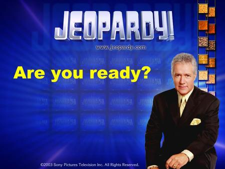 Are you ready?. Rockvale Middle School – United States History.