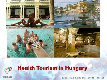 Health Tourism in Hungary. Health tourism in numbers 35 % of the commercial overnights, 49 % of domestic overnights and 24 % of the foreign overnights.