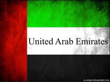 United Arab Emirates.