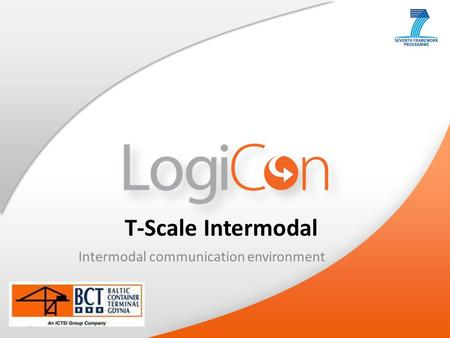 Your Logo T-Scale Intermodal Intermodal communication environment.