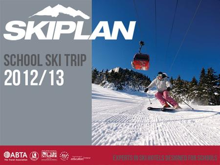 Over the last 14 years SkiPlan has become established as one of the largest and most trusted names in school skiing and our team have extensive resort.
