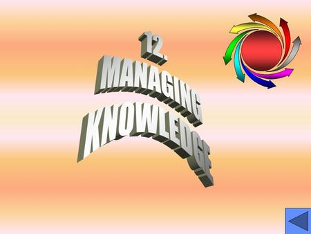 Learning Objectives Explain organizational knowledge managementExplain organizational knowledge management Describe useful applications for distributing,