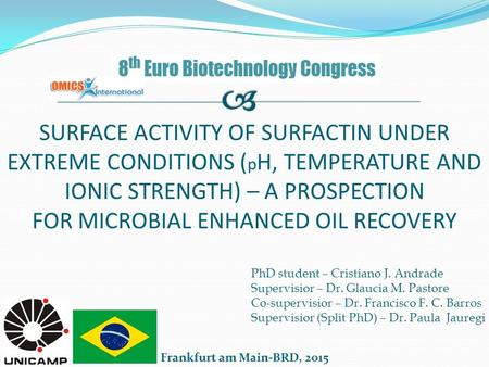thesis on biosurfactant production A dissertation submitted to the graduate faculty of  action of b firmus works as  a biosurfactant produced by the bacterium at concentrations of.