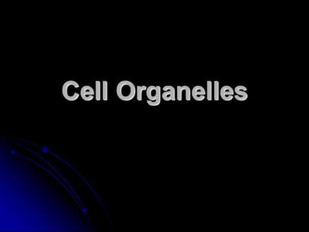 Cell Organelles. Like a major city, a cell teems with specialized workers that carry out its daily operations— making energy, moving proteins, or helping.