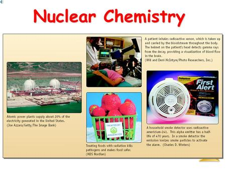 Nuclear Chemistry Nuclear Chemistry Nuclear Chemistry Nuclear Reactions vs. Normal Chemical Reactions Nuclear reactions involve the nucleusNuclear reactions.
