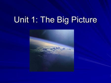 Unit 1: The Big Picture. What is Astronomy? The study of stars & anything outside Earth –Not astrology…no horoscope reading here! Today we will go over.