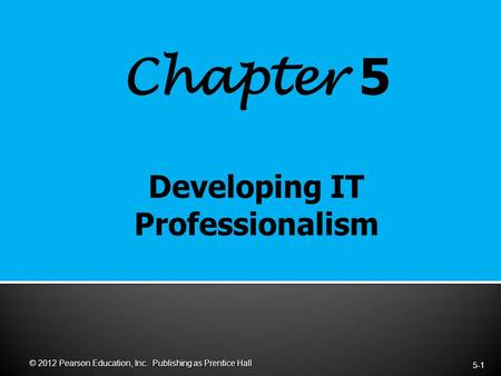 To educate the human potential chapter 5
