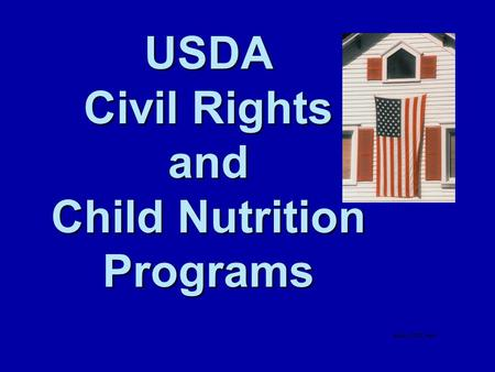 USDA Civil Rights and Child Nutrition Programs. Child Nutrition Program Civil Rights Understanding Civil Rights And Civil Rights Training In 10 Easy Steps!