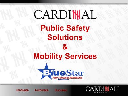 Public Safety Solutions & Mobility Services. Corporate Overview Located in Lewisville, Texas Founded in 1982 36 Employees Over Software 400 Clients in.