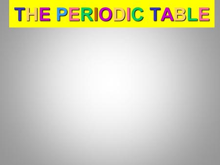THE P PP PERIODIC TABLE THEPERIODIC TABLETHE PERIODIC TABLETHEPERIODIC TABLETHE PERIODIC TABLE.