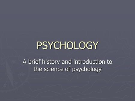 an introduction to the history of psychology pdf