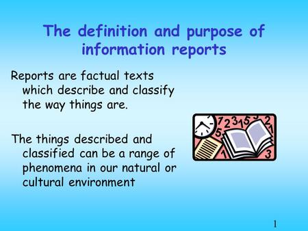 definition and purpose of a descriptive Descriptive research is a study designed to depict the participants in an accurate way more simply put, descriptive research is all about describing people who take part in the study.