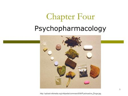 1 Chapter Four Psychopharmacology