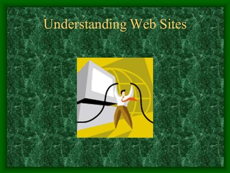 Understanding Web Sites. What is a Web Site A collection of Web pages which you can view on the Internet Contains text, graphics, sound, and video to.