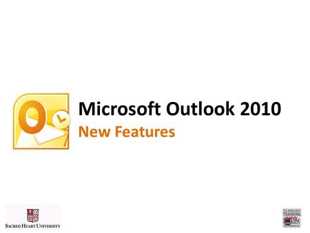 "Microsoft Outlook 2010 New Features. Improved Interface ""The Ribbon"""
