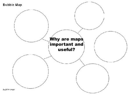 Why are maps important and