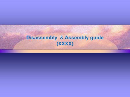 Disassembly & Assembly guide (XXXX). XXXX Key Selling Point Full Touch Smartphone Android 4.2 MT6592V/W 8 core 16GB eMMC + 16Gb (x32) LPDDR2 4.97 inch.