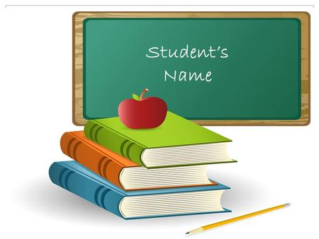 Student's Name. Daily Supports in the Classroom  Preferential seating  He should always be able to see the interpreter, the speaker's face and the board.