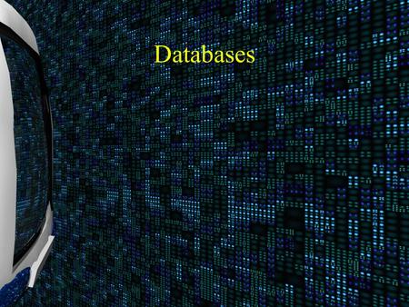 Databases. Database A database is an organized collection of related data.