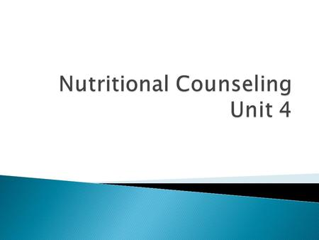  What is different from inpatient and outpatient counseling?  Case Studies.
