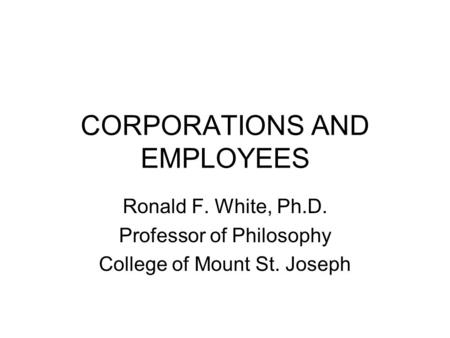 boatright and whistle blowing Ethics and the conduct of businesssixth edition john r boatright  comprehensive and thorough in scope, ethics and the conduct of  86  whistleblowing 87.
