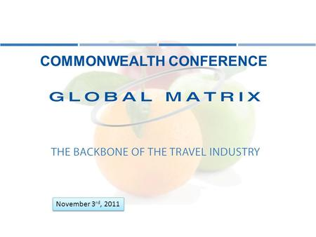 COMMONWEALTH CONFERENCE November 3 rd, 2011. Cloud Computing Are you operating in the cloud? What is it? How long has it been around?