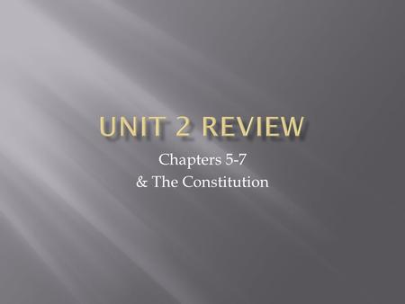 Chapters 5-7 & The Constitution.  Fort Duquesne  Albany Plan of Union  Invite the Iroquois  What it does  Organize armies  Collect taxes  Rejected.
