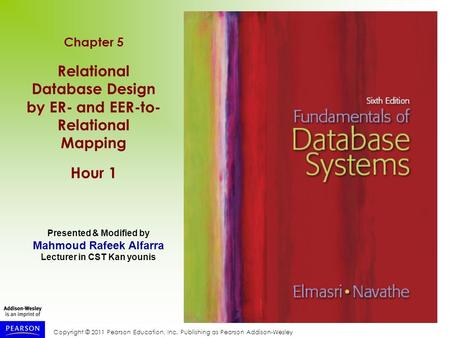 Relational Database Design by ER- and EER-to- Relational Mapping