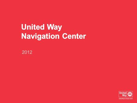 2012. UWATX Program Areas Navigation Center Services.