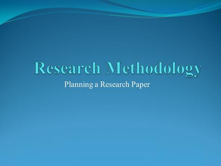 What Is A Primary Source For A Research Paper