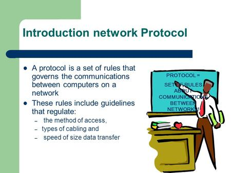 Introduction network Protocol