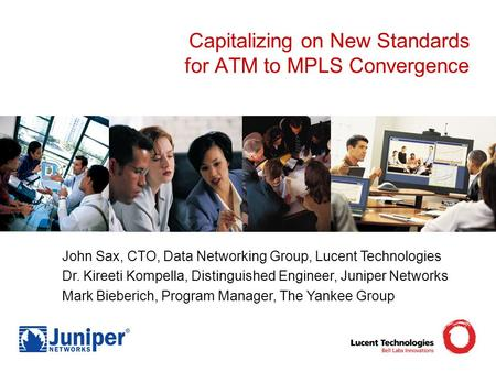 Capitalizing on New Standards for ATM to MPLS Convergence