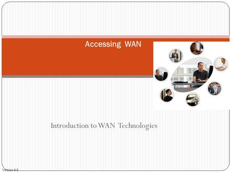 Introduction to WAN Technologies