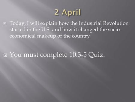 An introduction to the progressions and changes in the industrial revolution that changed the way of