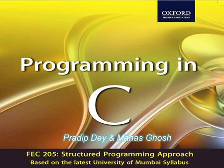 INTRODUCTION TO PROGRAMMING, ALGORITHMS & FLOWCHARTS Programming in C2 CHAPTER 1.