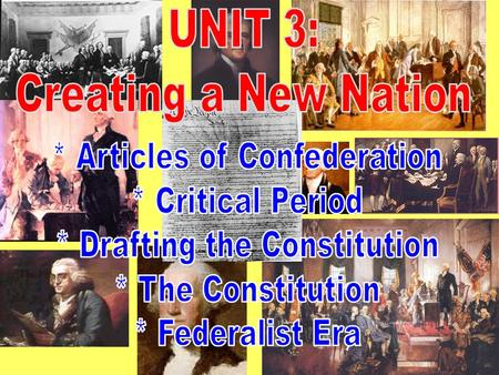 u s history objectives and vocabulary What is the significance of the six big ideas in the constitution historically and for  vocabulary: articles of  the us national archives and records.