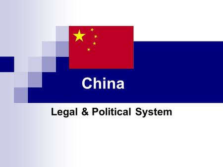 Legal & Political System