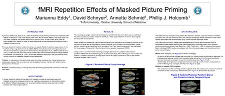 RESULTS The masking paradigm worked well (participants reported that they knew there was something in the prime position, but where unable to identify.