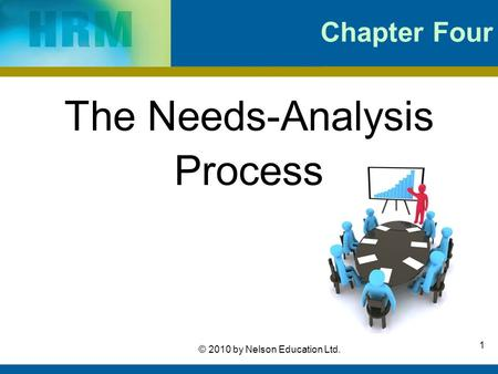 1 © 2010 by Nelson Education Ltd. Chapter Four The Needs-Analysis Process.