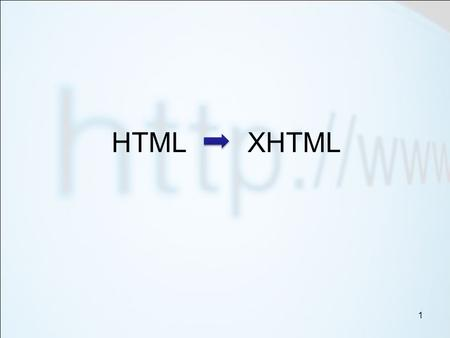1 HTML XHTML. 2 Understand the Doctype tag Know the html tags which are now classed as depreciated Understand how Dreamweaver adds styles Add styles to.