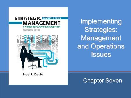 Implementing Strategies: Management and Operations Issues Chapter Seven.