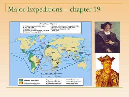 Major Expeditions – chapter 19