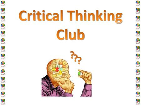 Critical Thinking   Docsity