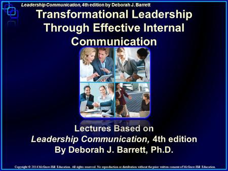 Transformational Leadership Through Effective Internal Communication
